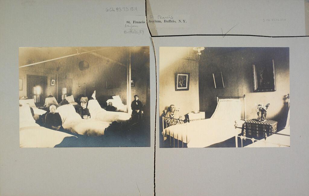 Charity, Aged: United States. New York. Buffalo. St. Francis Asylum: St. Francis Asylum, Buffalo, N.y.