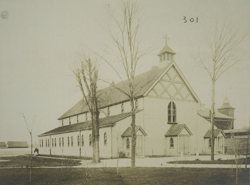 Charity, Aged: United States. New York. New York City. Home For Aged And Infirm, Brooklyn Division, Flatbush: Home For Aged And Infirm, Brooklyn Division, Flatbush (New York City Almshouse System): Chapel