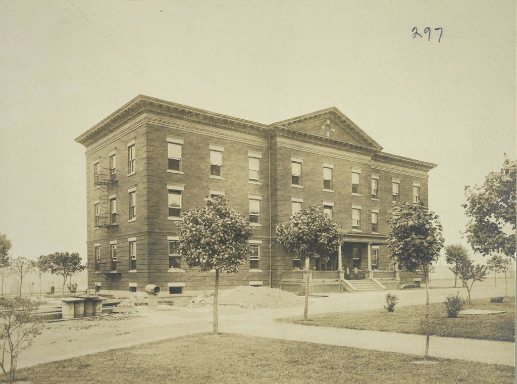 Charity, Aged: United States. New York. New York City. Home For Aged And Infirm, Brooklyn Division, Flatbush: Home For Aged And Infirm, Brooklyn Division, Flatbush (New York City Almshouse System): Hospital Nurses Home