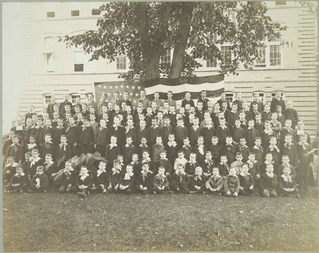 Charity, Children: United States. New York. Albany. St. Vincent's Male Orphan Asylum: St. Vincent's Male Orphan Asylum, Albany, N.y.