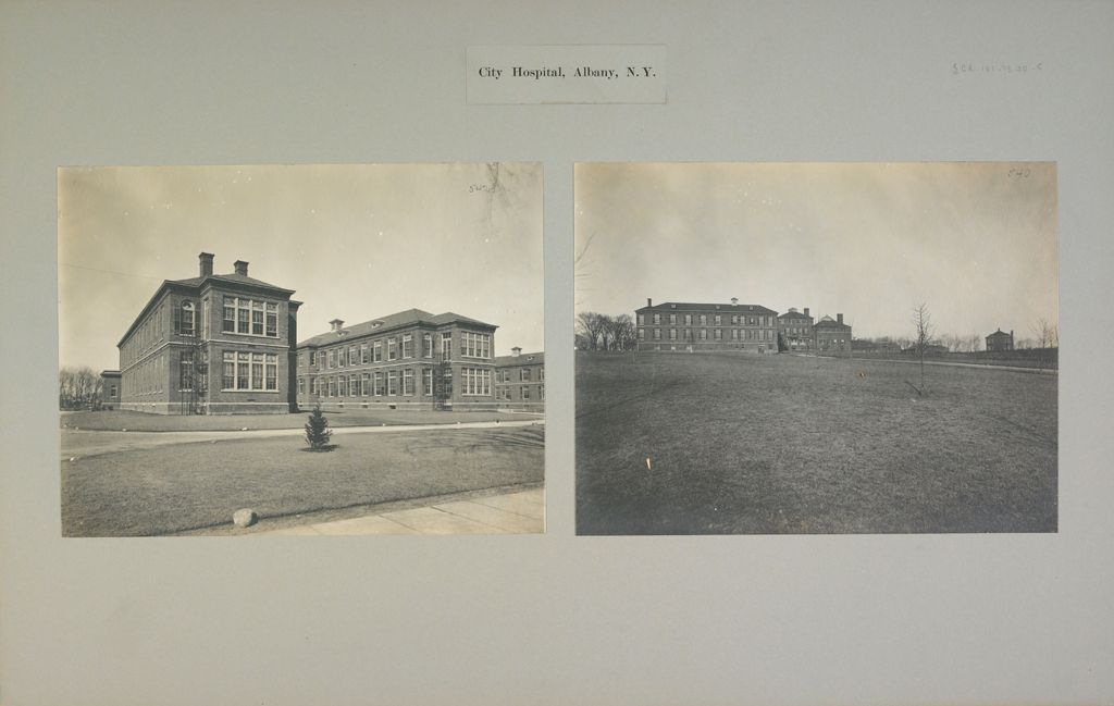 Charity, Hospitals: United States. New York. Albany. City Hospital: City Hospital, Albany, N.y.