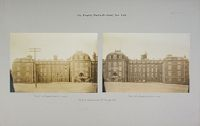 Charity, Hospitals: United States. New York. New York City. City Hospital, Blackwell's Island: City Hospital, Blackwell's Island, New York: Front Elevation Of Hospital.
