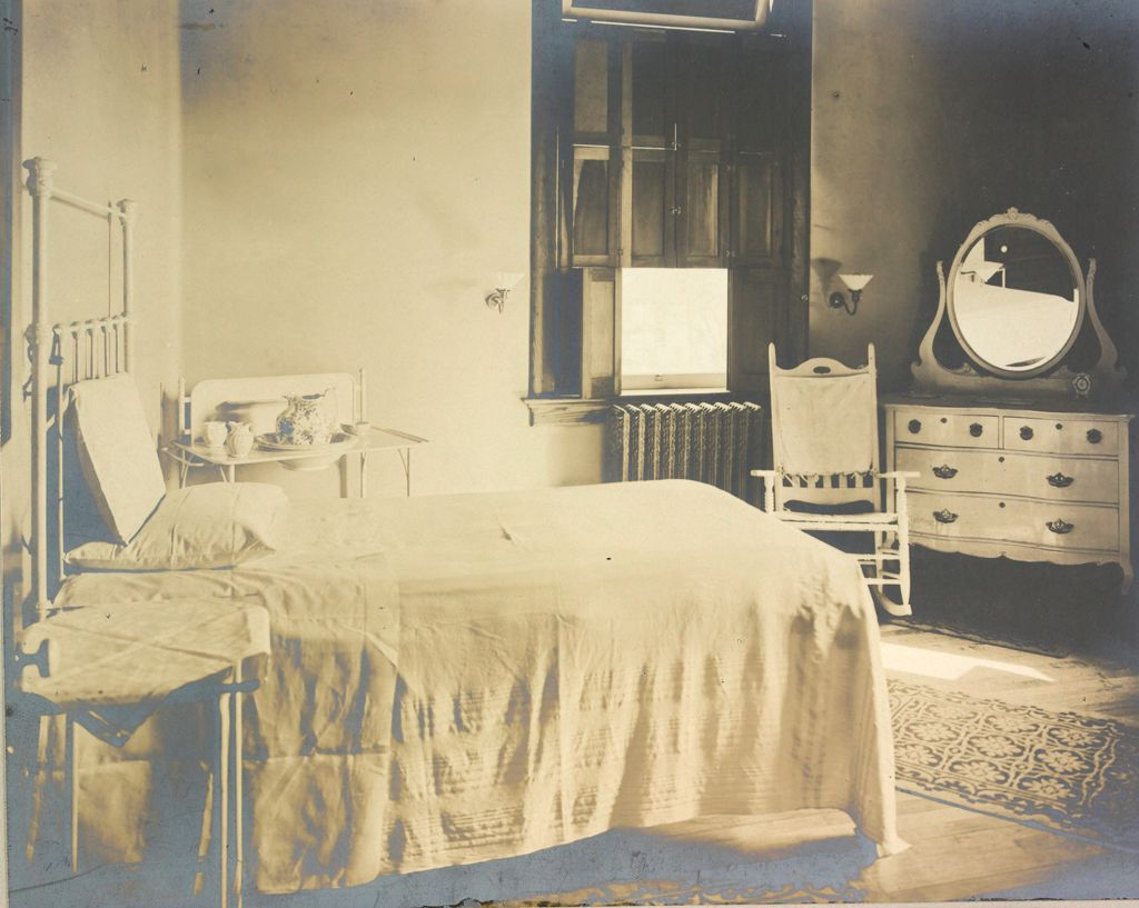 Charity, Hospitals: United States. New York. Syracuse. Hospital For Women And Children: Hospital For Women And Children, Syracuse, N.y.: Corner Of A Private Room.