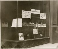 Charity, Organizations: United States. Massachusetts. Boston. Boston Associated Charities: Educational Posters: Exhibits Arranged By The Boston Associated Charities Illustrating The Purchasing Power Of A Dollar When Properly Spent Under The Direction Of Relief Agencies.