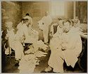 Charity, Hospitals: United States. New York. New York City. Metropolitan Hospital, Blackwell's Island: Metropolitan Hospital, New York City: Waiting For Baths.