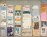 Charity, Organizations: United States. Publicity For Social Work. Leaflets & Folders