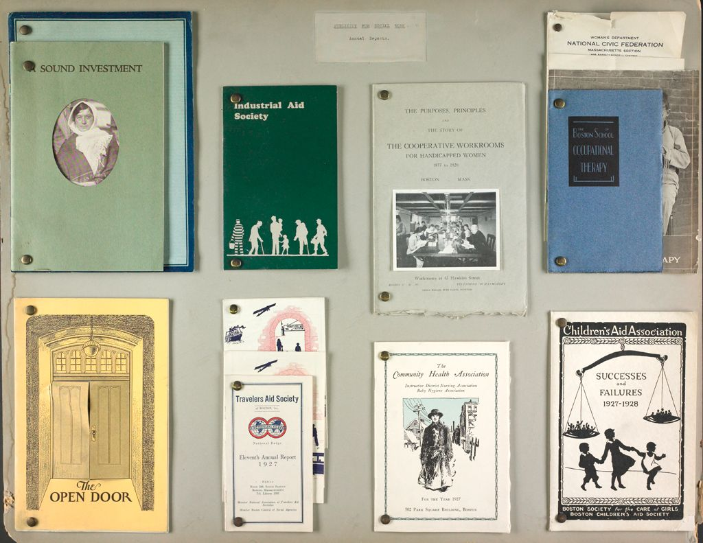 Charity, Organizations: United States. Massachusetts. Boston. Publicity For Social Work. Annual Reports