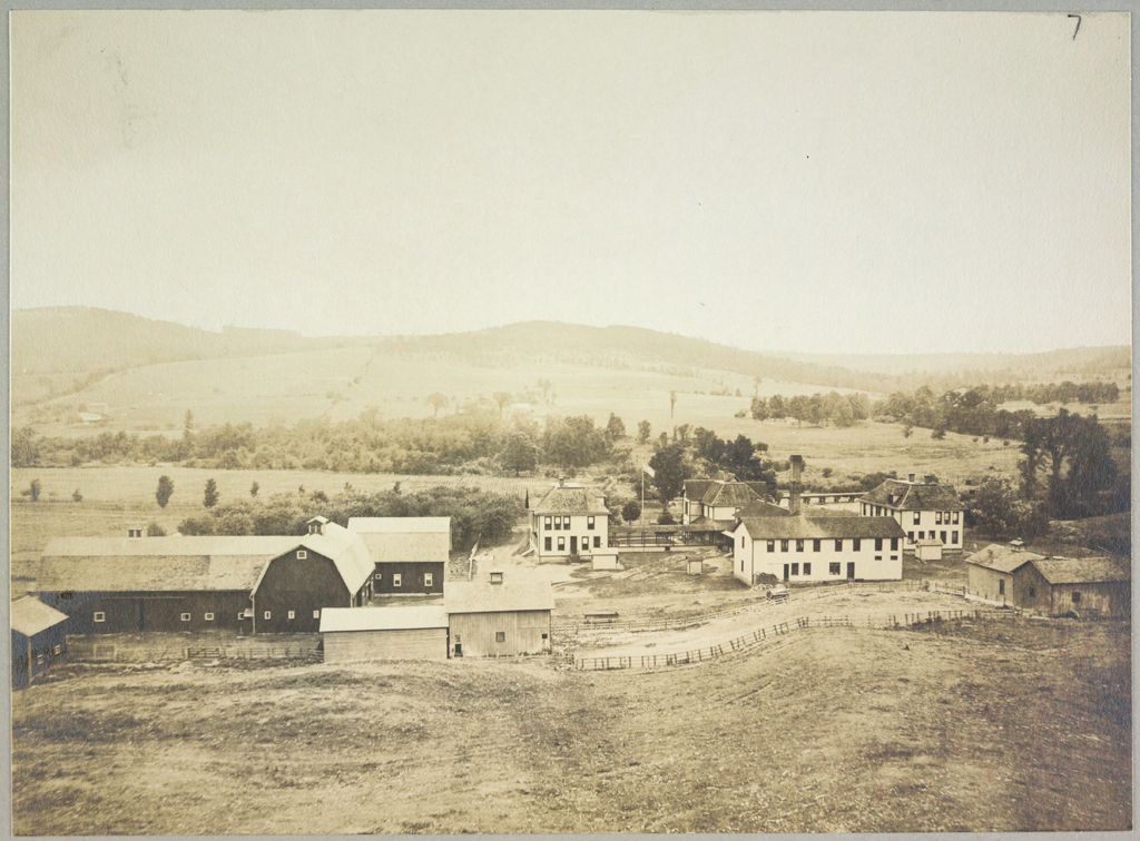 Charity, Public: United States. New York. Angelica. Allegany County Almshouse: Almshouses Of Allegany County, N.y.: Panorama
