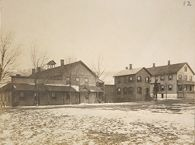 Charity, Public: United States. New York. Binghamton. Broome County Almshouse: Almshouses of Broome County, N.Y.: Women's Building and Work and Service Building (Demolished), Women's Hospital (Discontinued), Men's Building