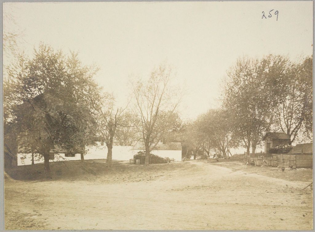 Charity, Public: United States. New York. Brookville. Oyster Bay And North Hempstead Town Almshouse: Almshouses Of Oyster Bay And North Hempstead (Nassan Couny), N.y.: Rear View Of Main Building