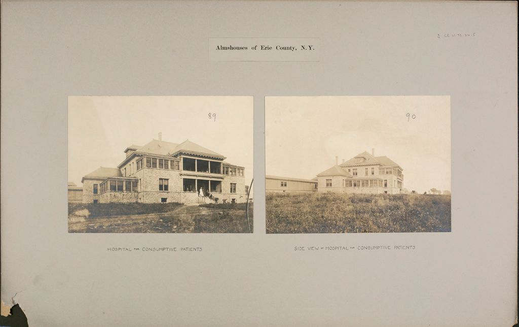 Charity, Public: United States. New York. Buffalo. Erie County Almshouse: Almshouses Of Erie County, N.y.