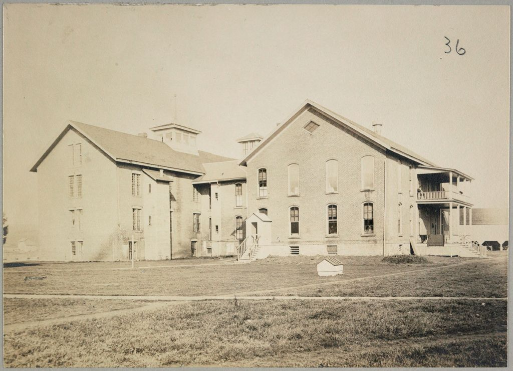 Charity, Public: United States. New York. Dewittville. Chautauqua County Almshouse: Almshouses Of Chatauqua [Sic] County, N.y.: Building Now Removed; Hospital