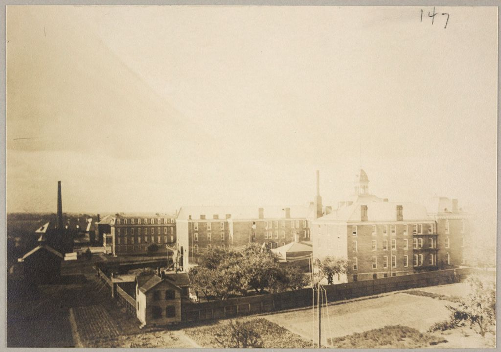 Charity, Public: United States. New York. Rochester. Munroe County Almshouse: Almshouses Of Munroe County, N.y.: Rear Of Main Building