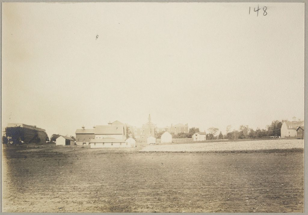 Charity, Public: United States. New York. Rochester. Munroe County Almshouse: Almshouses Of Munroe County, N.y.: Panorama From Rear