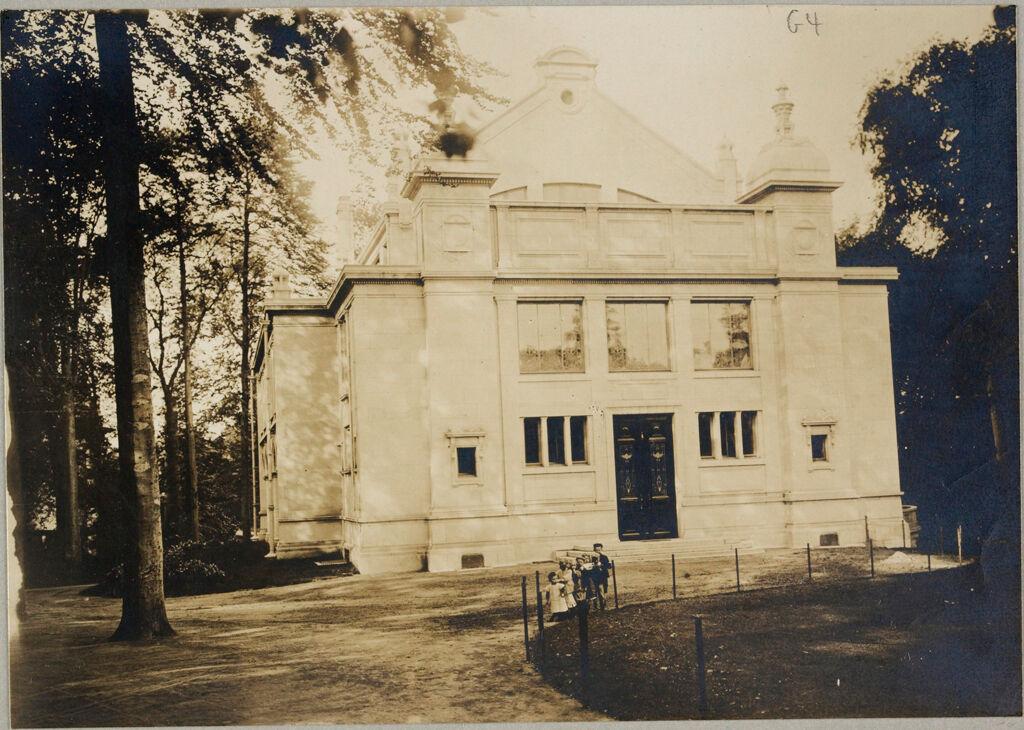Education, Social And Political: Belgium. Brussels. Institut Solvay: Social Conditions In Belgium, 1903: Solvay Institute Of Social Economy