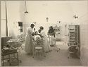 Charity, Hospitals: United States. New York. Ogdensburg. City Hospital And Orphanage: Grey Nuns Of The Cross: City Hospital And Orphanage, Ogdensburg, N.y. (Under The Direction Of The Grey Nuns Of The Cross): Operating Room In New Department.