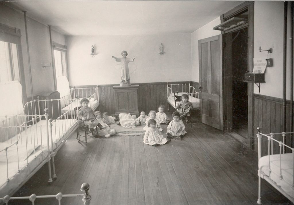 Charity, Children: United States. New Hampshire. Manchester. Our Lady Of Perpetual Help, Infant Asylum: New Hampshire State Charitable And Correctional Institutions.