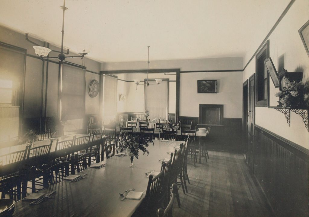 Charity, Children: United States. New Hampshire. Manchester. Manchester Children's Home: New Hampshire State Charitable And Correctional Institutions: Dining Room.