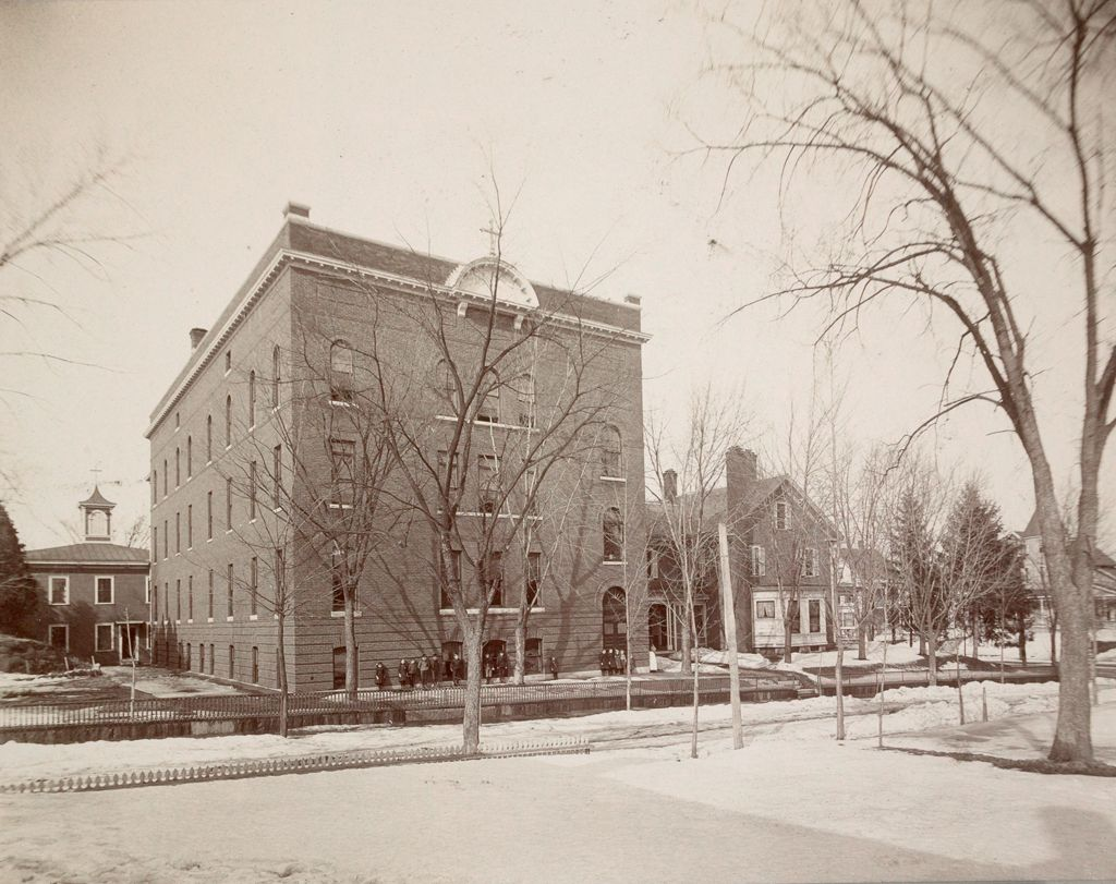 Charity, Children: United States. New Hampshire. Nashua. St. Joseph's Orphanage: New Hampshire State Charitable And Correctional Institutions: Main Front.