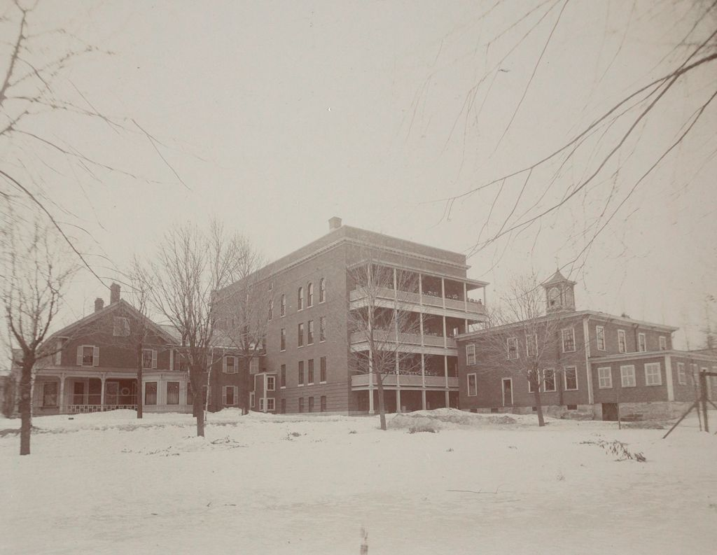 Charity, Children: United States. New Hampshire. Nashua. St. Joseph's Orphanage: New Hampshire State Charitable And Correctional Institutions: Rear View.