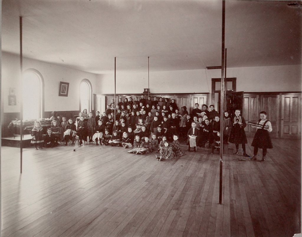 Charity, Children: United States. New Hampshire. Nashua. St. Joseph's Orphanage: New Hampshire State Charitable And Correctional Institutions: Girls' Recreation Room.