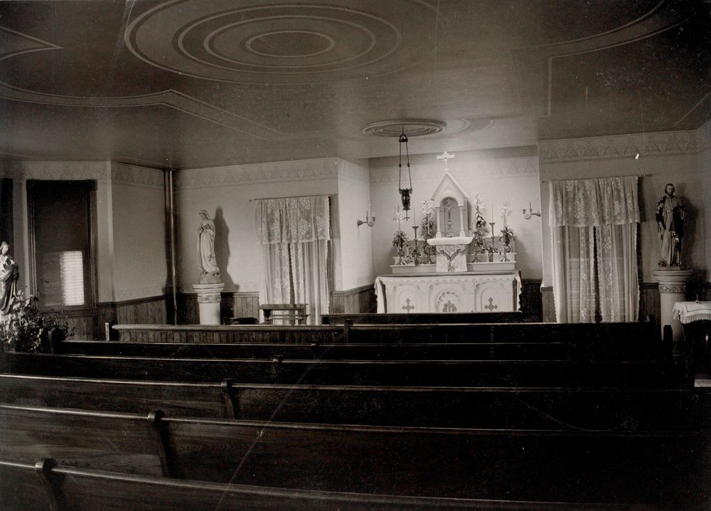 Charity, Children: United States. New Hampshire. Manchester. St. Peter's Orphanage For Boys: New Hampshire State Charitable And Correctional Institutions.: Chapel.