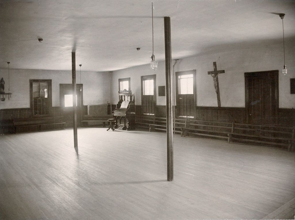 Charity, Children: United States. New Hampshire. Manchester. St. Peter's Orphanage For Boys: New Hampshire State Charitable And Correctional Institutions.: [Re]Creation Room.