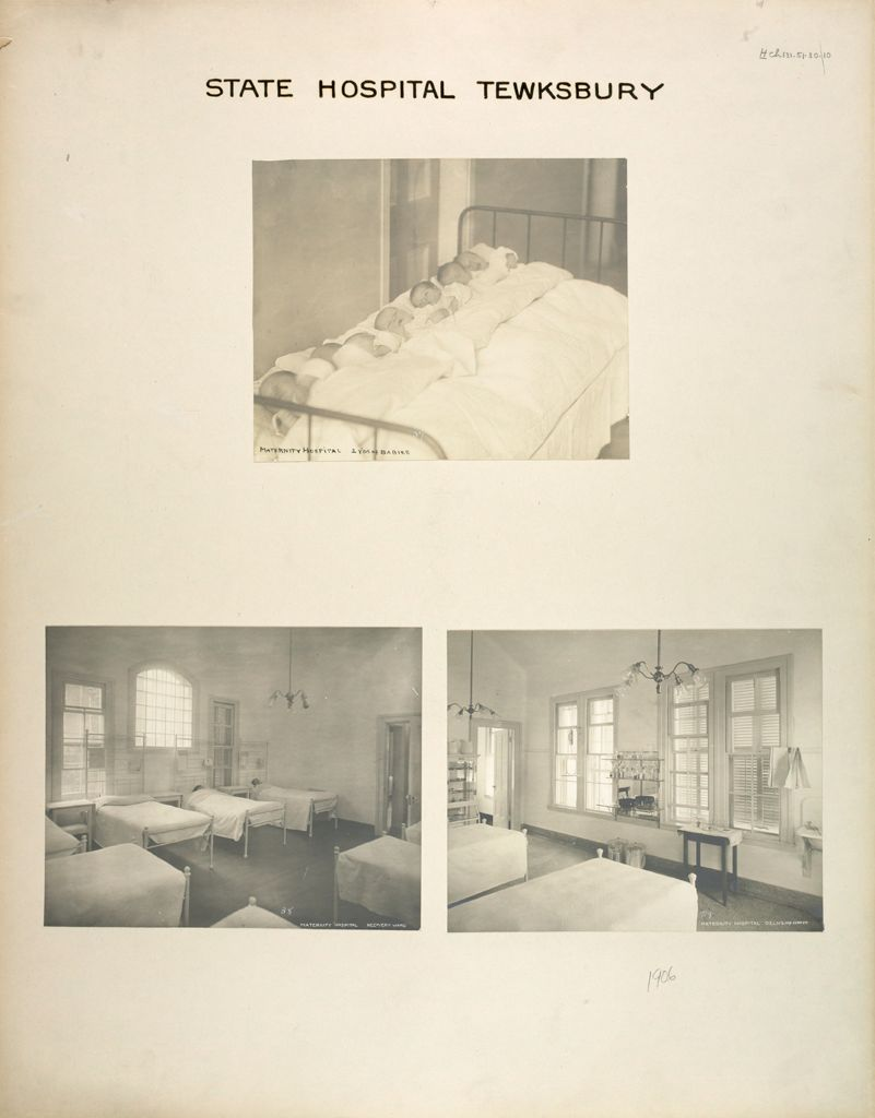 Charity, Hospitals: United States. Massachusetts. Tewksbury. State Hospital: State Hospital Tewksbury: Maternity Hospital
