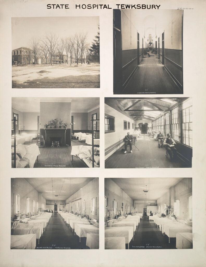 Charity, Hospitals: United States. Massachusetts. Tewksbury. State Hospital: State Hospital Tewksbury