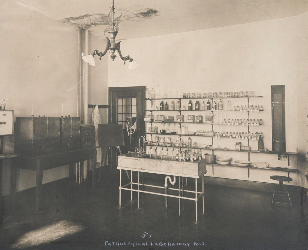 Charity, Hospitals: United States. Massachusetts. Tewksbury. State Hospital: State Hospital Tewksbury: Pathological Laboratory No. 2