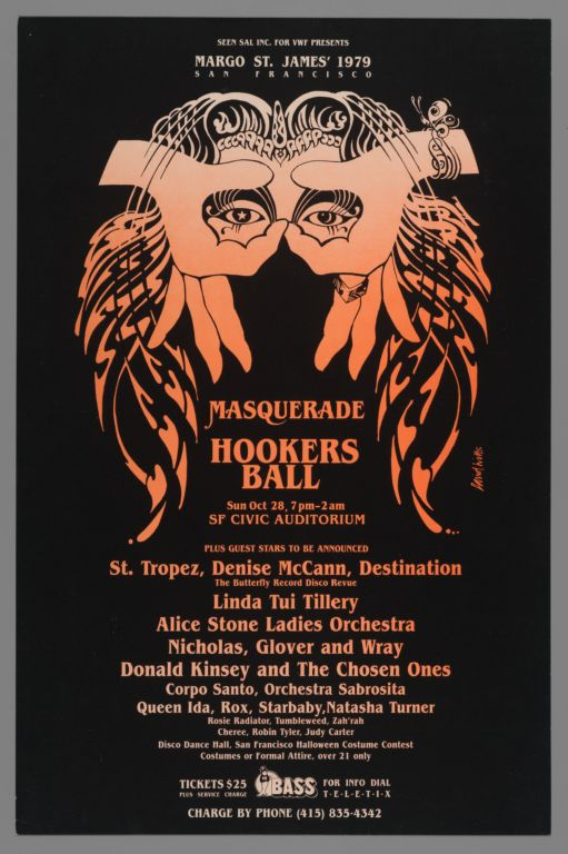 Margo St. James' 1979 San Francisco Masquerade Hookers Ball