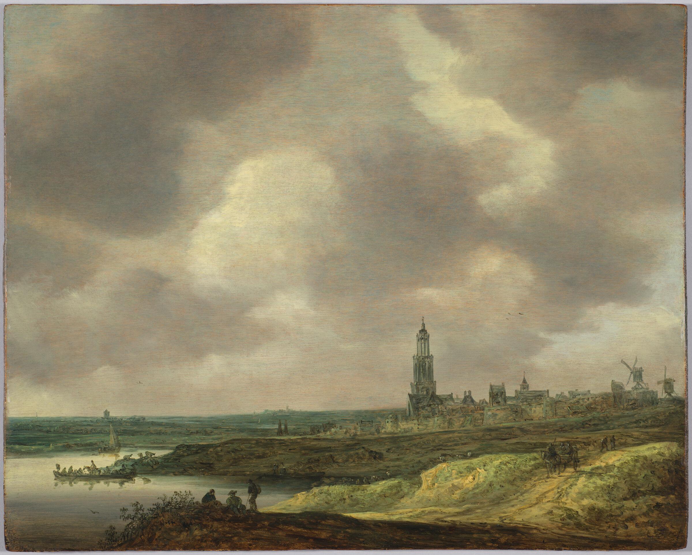 View Of Rhenen