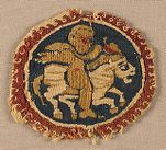 Roundel: Putto on a Horse