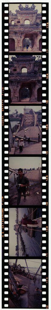 Untitled (Partially Collapsed Bridge Across Perfume River; Hien Nhan Gate, Hue, Vietnam)