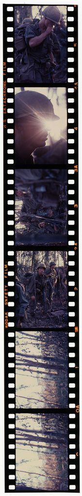 Untitled (Camouflaged Soldiers In Jungle Of Central Highlands Near Dak To, Vietnam)