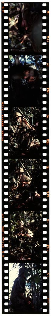 Untitled (Soldiers On Patrol In Jungle Of Central Highlands Near Dak To, Vietnam)