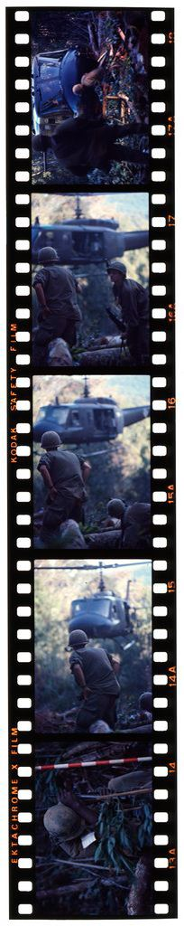 Untitled (Soldiers In Clearing Near Top Of Hill 882 Awaiting Arrival Of Helicopter, Central Highlands Near Dak To, Vietnam)