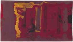 Untitled (Study For Harvard Murals) (Verso)