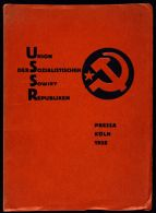 Catalogue of the Soviet Pavilion at Pressa, the International Press Exhibition, Cologne