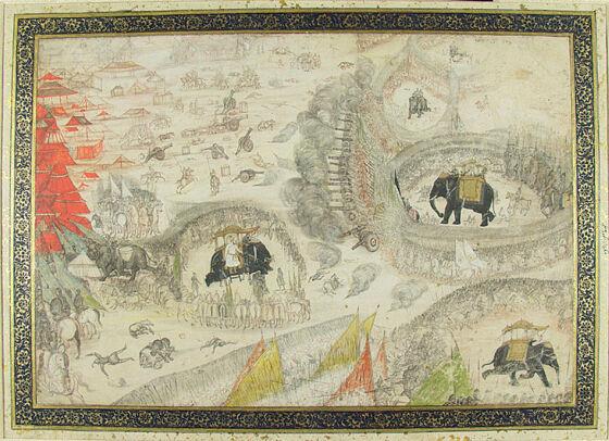 Battle of Samugarh, 1658