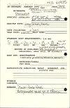 Judy Chupasko field notebook, Nicaragua: January 1996, page 91
