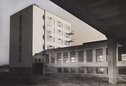 Bauhaus Building, Dessau, 1925-1926: Canteen And Studio Building From The Northwest