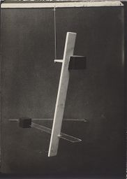 Student Exercise From László Moholy-Nagy's Bauhaus Preliminary Course (1924)