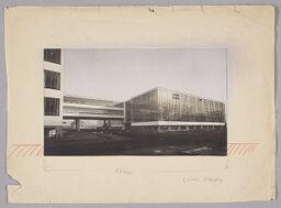 Bauhaus Building, Dessau, 1925-1926: View From The Northwest