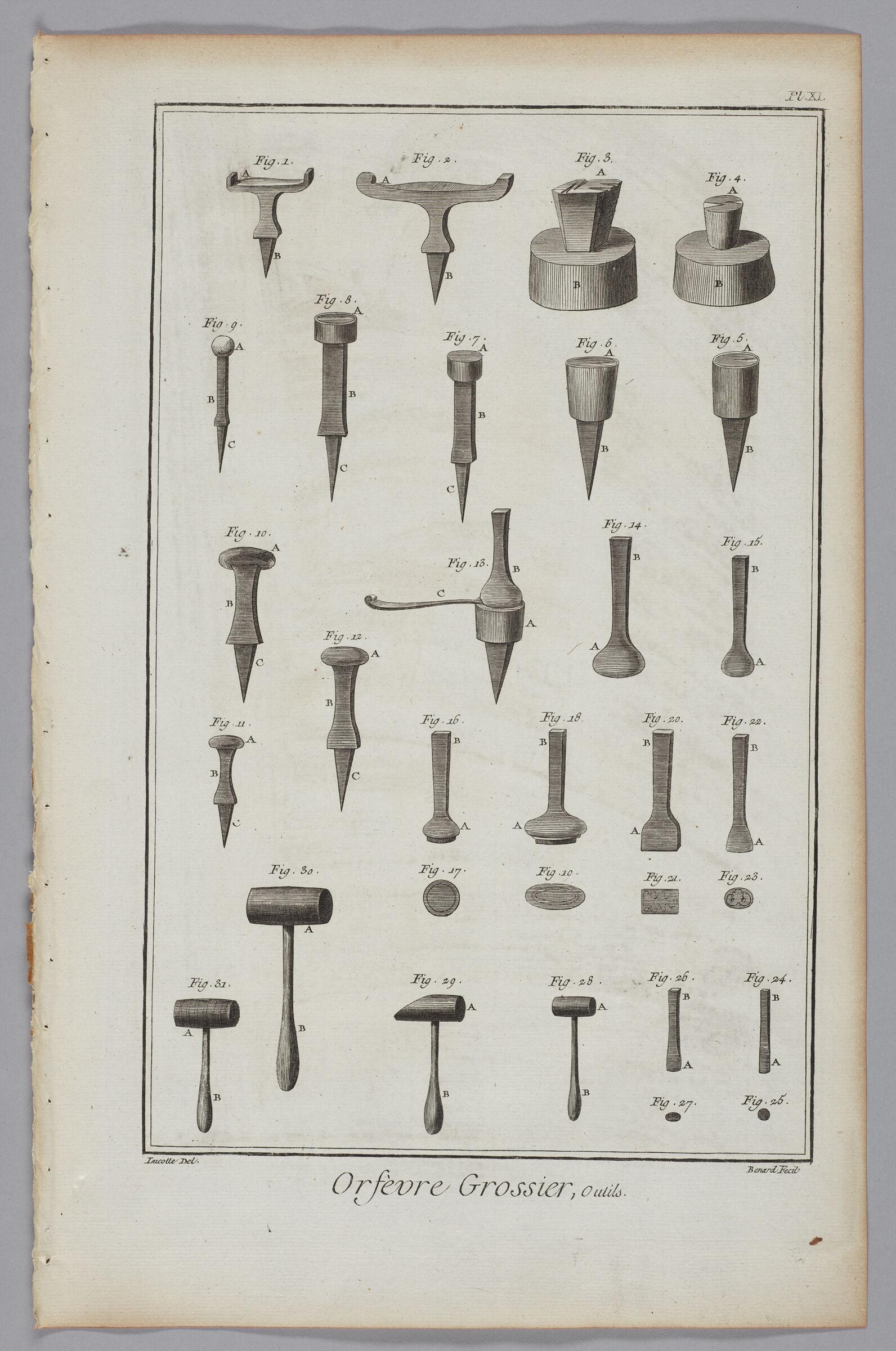Goldsmiths' Tools