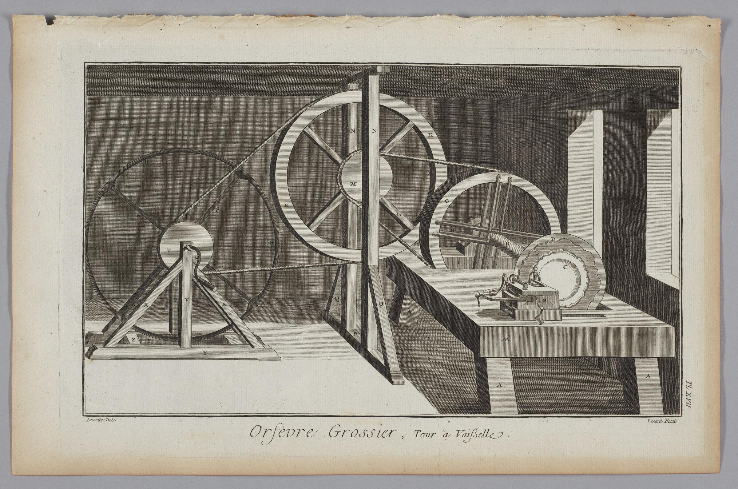 Goldsmiths' Plate Turning Lathe