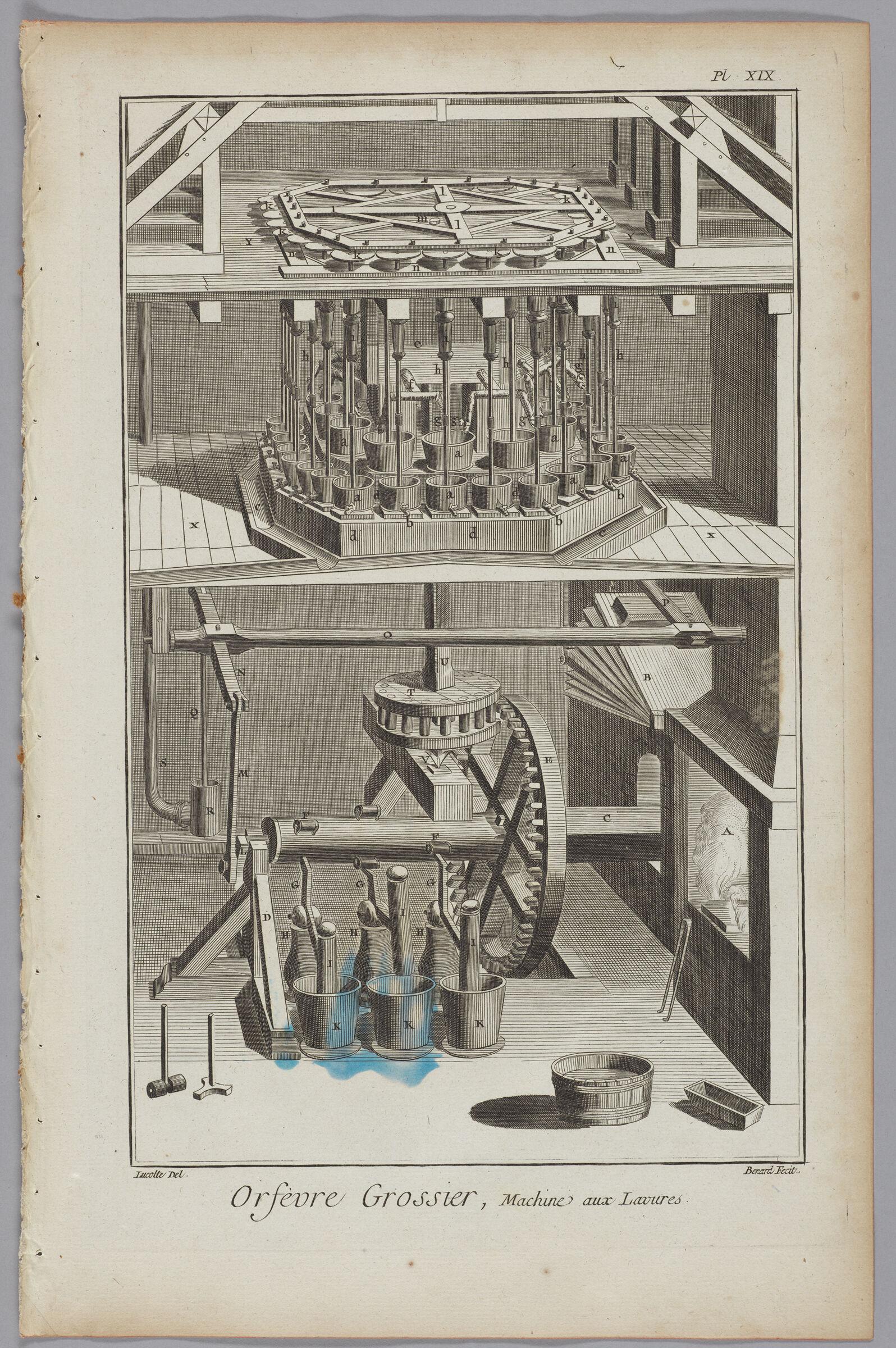 Goldsmiths' Cast Machine