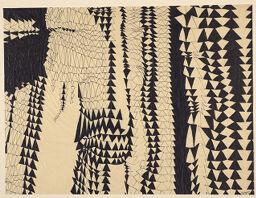 Untitled (Bmc.128, Study Of Triangles)