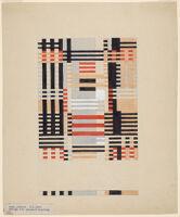 Design For A Jacquard Weaving