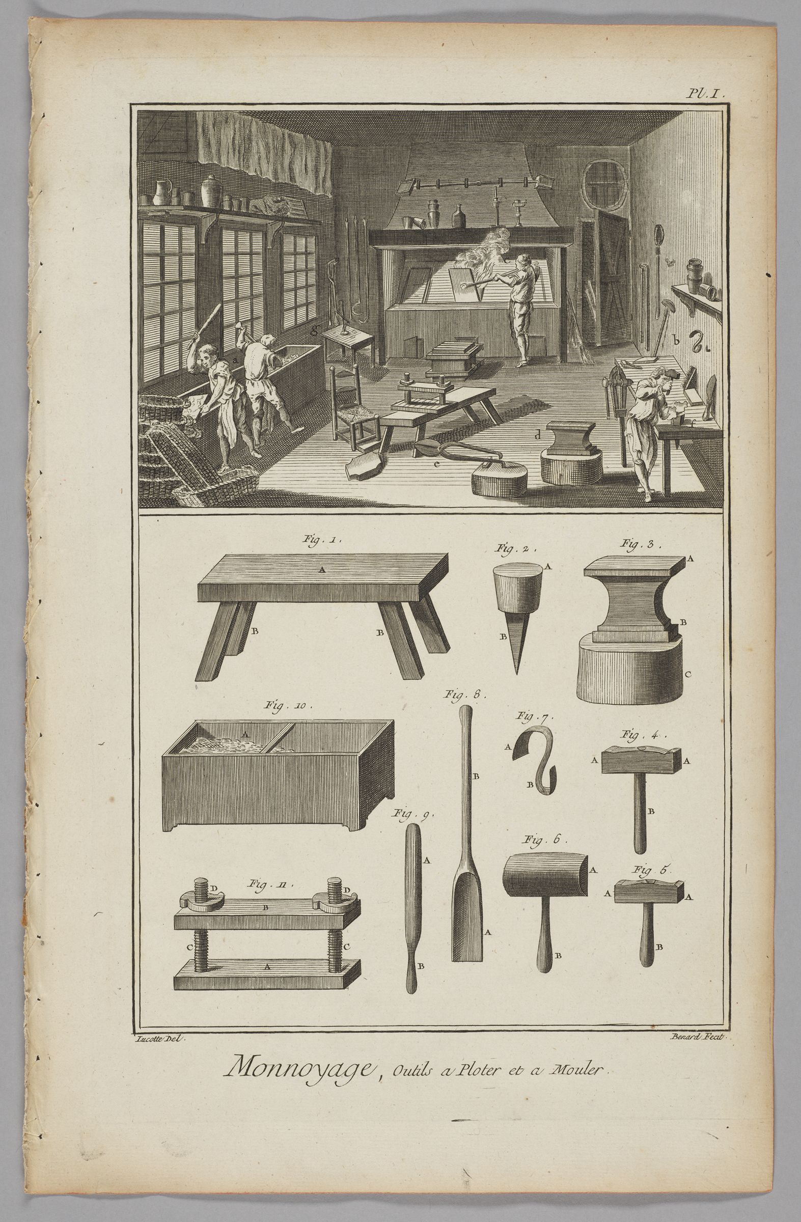 Minting, Plotting And Molding Tools